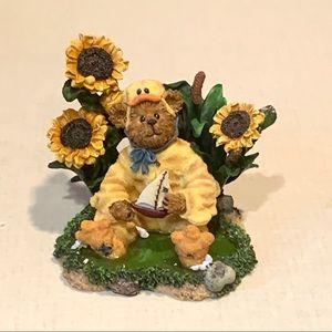 "Boyds Bear ""Puddleduck McBear"" Resin Figurine"
